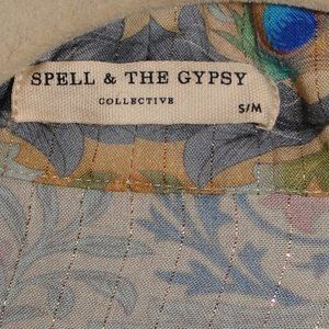 Spell & The Gypsy Collective Other - SPELL & THE GYPSY COLLECTIVE OASIS KIMONO ROBE S/M